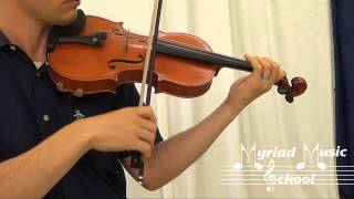 Suzuki Violin Book 3 - Number 3 - Gavotte in G Minor