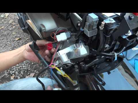 สัญญาณกันขโมย รถคลิกไอ 125 i G-LOCK วิธีติดตั้ง 085-8686711