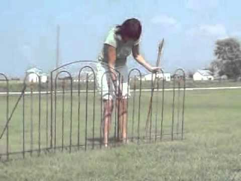 wrought iron fence installation. Easy Install Wrought Iron Fence Installation