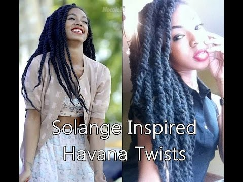 Solange Inspired Invisible Root Marley Twists Natural