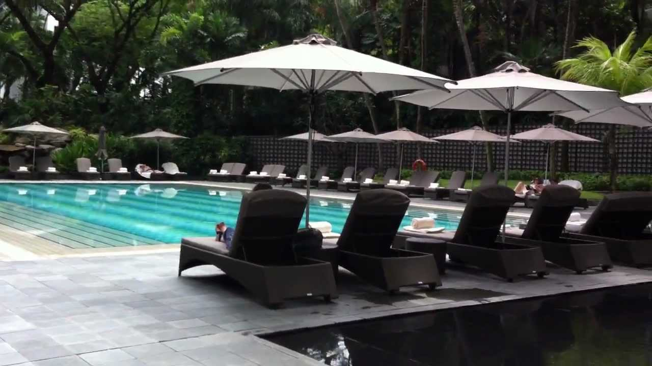 Ritz Carlton Millenia Singapore Pool Youtube