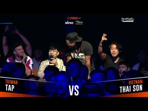 TAP VS THAI SON|Asia Beatbox Championship 2018 Final Loopstation Battle
