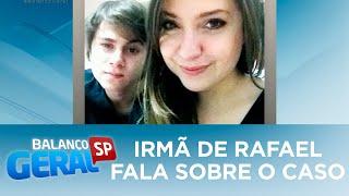 Exclusivo: irmã de Rafael Miguel fala sobre a morte do ator e dos pais