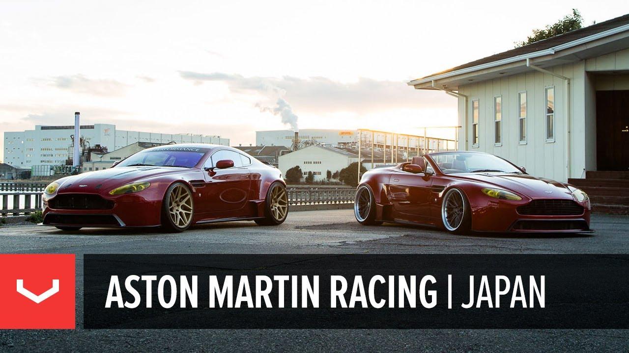 Aston Martin Racing Vantage Widebody Duo Vossen Vps 315t And Vws 2 Wheels Youtube