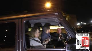 Jesse Metcalfe and Cara Santana talk with Yehia Mohamed about Jimmy Kimmel Live outside Craigs Resta