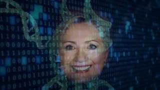 Evidence shows: Hillary Clinton is a robot.