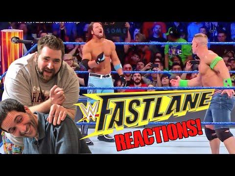 BONGO HEAD GRIMS WWE FASTLANE 2018 REACTIONS - REVIEW - RESULTS!
