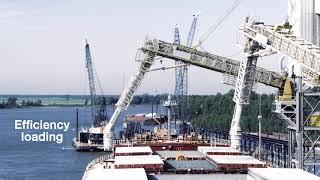 Bühler shiploaders for Zen-Noh Grain Corporation – Stationary Portaload