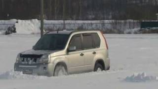 Pathfinder, X-Trail & UAZ vs Snow