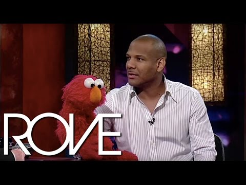 Elmo Introduces Rove To His Best Friend Kevin Clash | Interview (2006) | ROVE