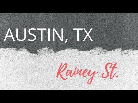 Austin Texas Nightlife- Rainey Street
