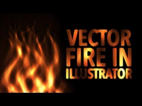 Vector Fire In Illustrator