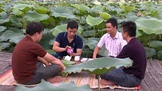 Kỳ công nghề ướp trà sen Hồ Tây  : Chuyện đời chuyện nghề