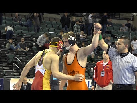 Hasbrouck Heights Michael O'Malley wins 170 pound state wrestling title