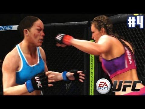 EA Sports UFC - Miesha Tate vs Liz Carmouche (EA Sports UFC PS4 Matches)