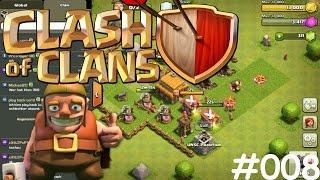 Let's Play Clash of Clans #008 [Deutsch] [HD] [PC] - Die ersten Mitglieder im Clan