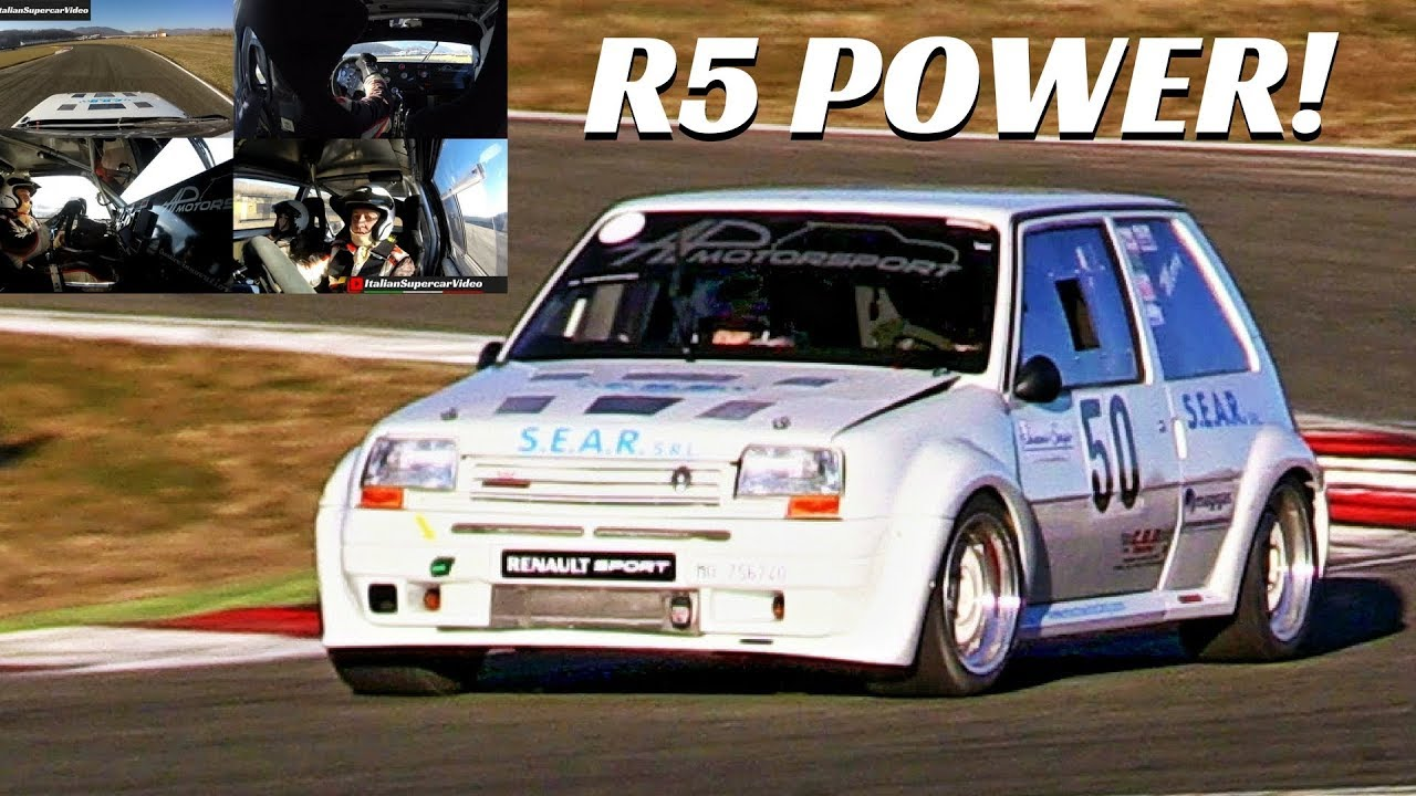 extremely fast 300 hp renault r5 turbo 4x on board. Black Bedroom Furniture Sets. Home Design Ideas