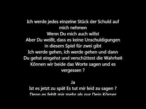 Justin Bieber - Sorry [Deutsche Übersetzung / German Lyrics]