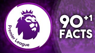 90+1 facts about the premier league!