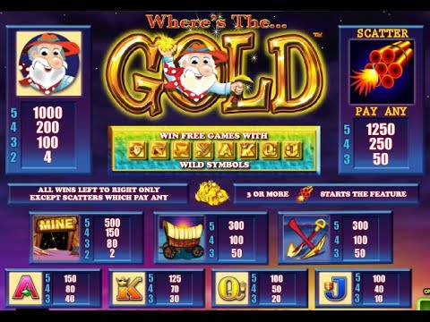 Wheres The Gold Aristocrat Online Slots Pokies Free Play