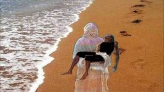 """Footprints In The Sand"" - William Blanco May - Inspirational Video [Lyrics] Mary Stevenson"