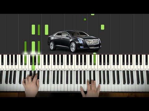 MORGENSHTERN \u0026 Элджей - Cadillac (Piano Tutorial Lesson)