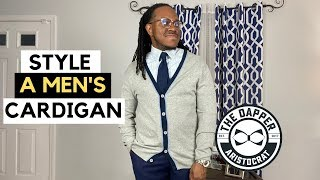How to Wear a Men's Cardigan |…