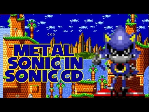Metal Sonic in Sonic CD