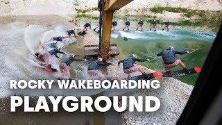 Wakeboarding Legends Jam A DIY Wake Park In Austria