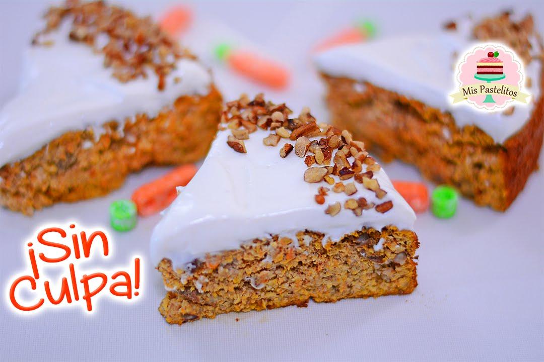 Pastel De Zanahoria Sin Gluten Sin Azúcar Mis Pastelitos Youtube