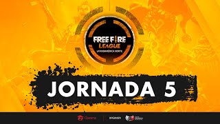 FREE FIRE LEAGUE - LAN - JORNADA 5 Y 6