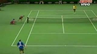 Fernando Gonzalez / Rafael Nadal AOpen Highlights - QF