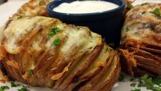 HASSELBACK POTATOES AIR FRYER