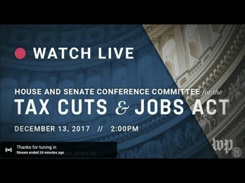 Download Youtube: House and Senate Republicans hold a meeting on the 'Tax Cuts and Jobs Act'