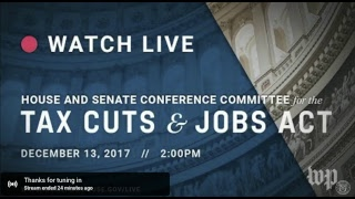 House and Senate Republicans hold a meeting on the 'Tax Cuts and Jobs Act' thumbnail