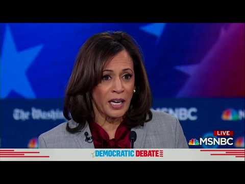 "kamala-harris-at-the-msnbc-democratic-debate:-""we-have-a-criminal-living-in-the-white-house."""
