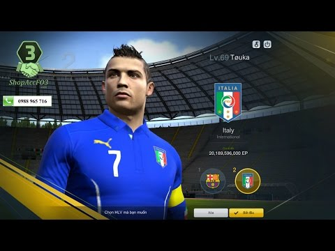 Mua Bán Acc Fifa Online 3 VIP | CR7 WB- Torres WB- Pogba WB