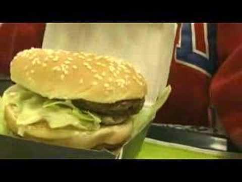 "How do you eat a McDonalds ""Mega Mac"" in Tokyo?"