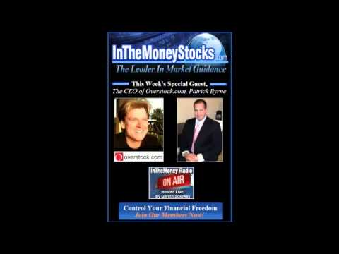 Overstock CEO, Patrick Byrne Talks With Gareth Live, Don't Miss This!