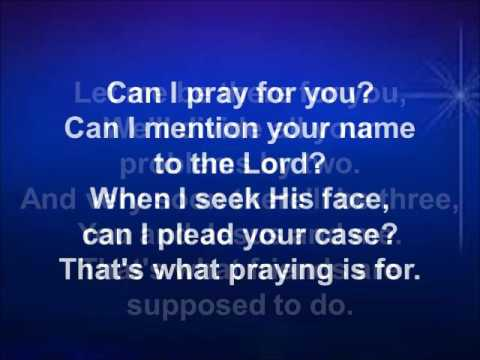 Can I Pray For You Demo