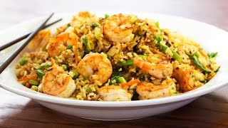 Shrimp Fried Rice Recipe On The Weber Master Touch Kettle Grill - Bbqguys.com