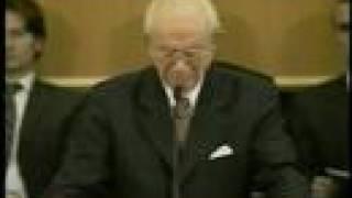 Gordon B Hinckley - emotional final Testimony