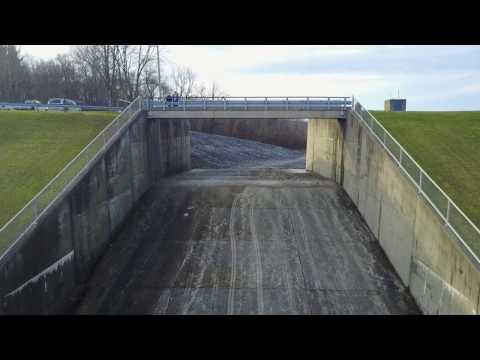 Mavic Pro baby steps - Kokosing Dam Overflow Fly Through