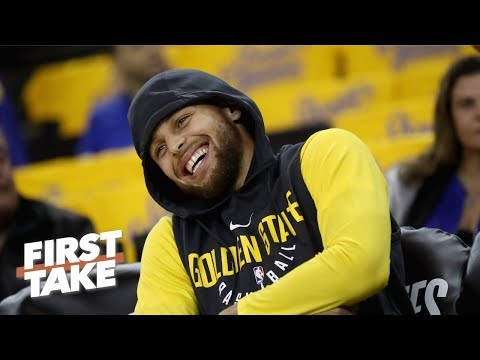 LeBron, Steph Curry deserve mega contracts like Mike Trout's - Stephen A. | First Take
