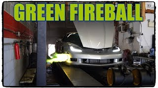 Eric's Silver Bullet Shoots Green Flames With Turbo Destruction