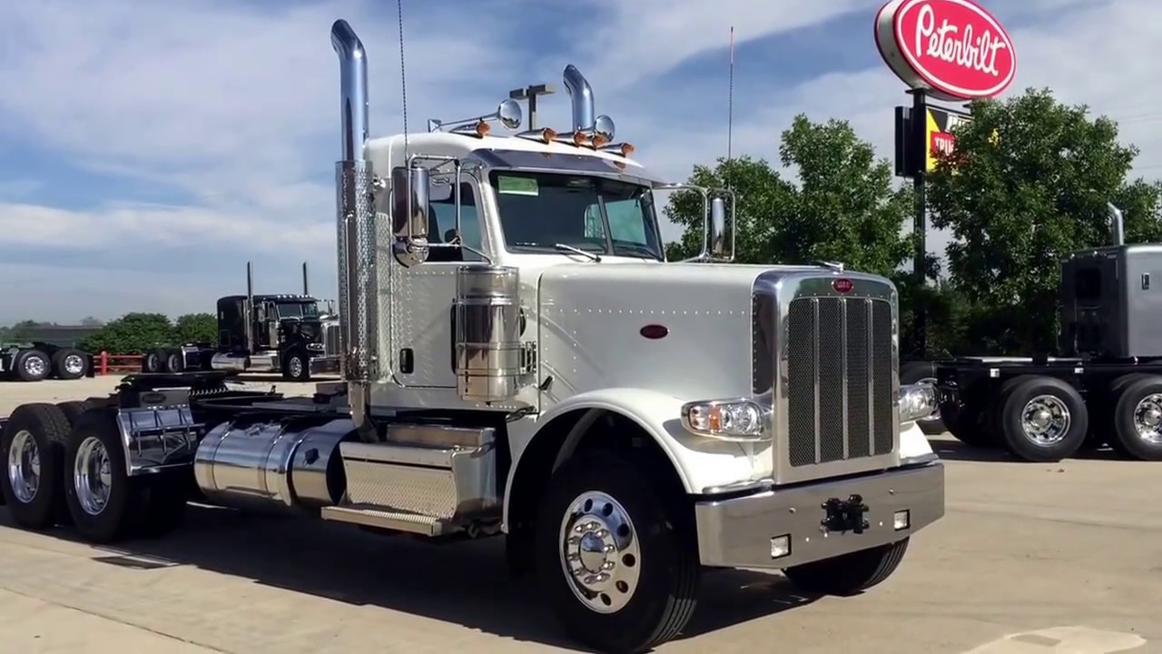2018 Peterbilt 389 Day Cab Extended Cab Youtube