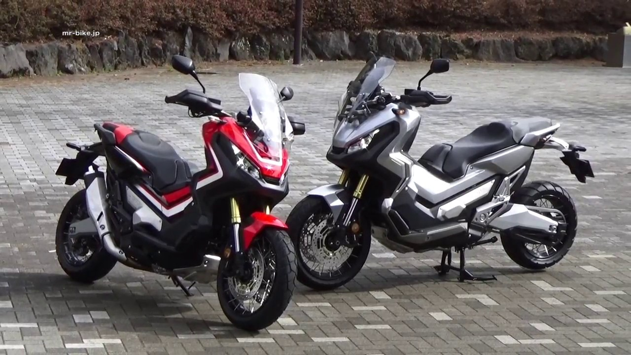 Honda X-ADV Riding WEB Mr. Bik...
