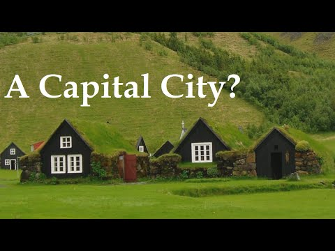 Why is Reykjavík the capital of Iceland?