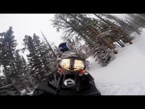 Albany Lodge Wyoming Snowmobiling 2016