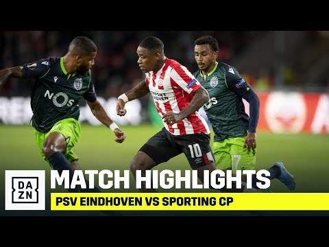 HIGHLIGHTS   PSV Eindhoven Vs. Sporting CP